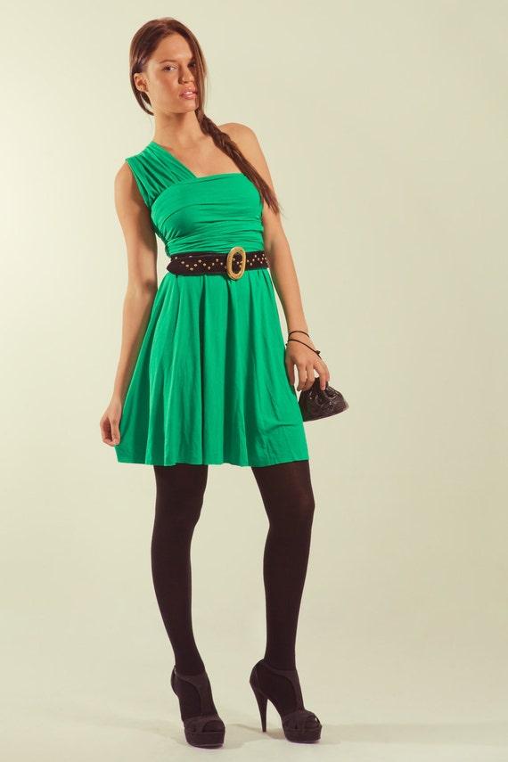 Convertible Summer Dress / Infinity Emerald Green Dress / Fashion Versatile dress