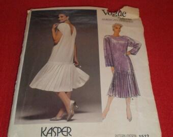 Vintage 80s Vogue American Designer Kasper