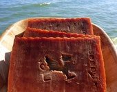 Dragon's zen - aromatic dragons blood incense scent soap natural handmade plus beautiful postcard