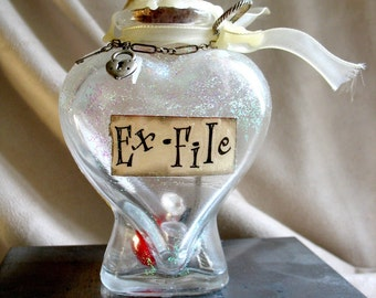 Ex-File Memory Bottle Number 1 by MaggieGlynn