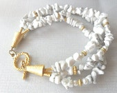 5 USD off only this week , white bracelet christmas gift for women