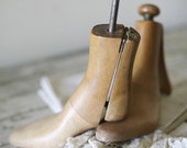 antique wooden shoe trees