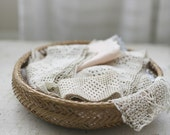basket of linens