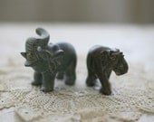 two stone elephants (reserved)