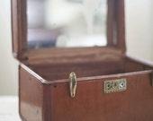 vintage train case