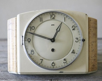 enamel wall clock