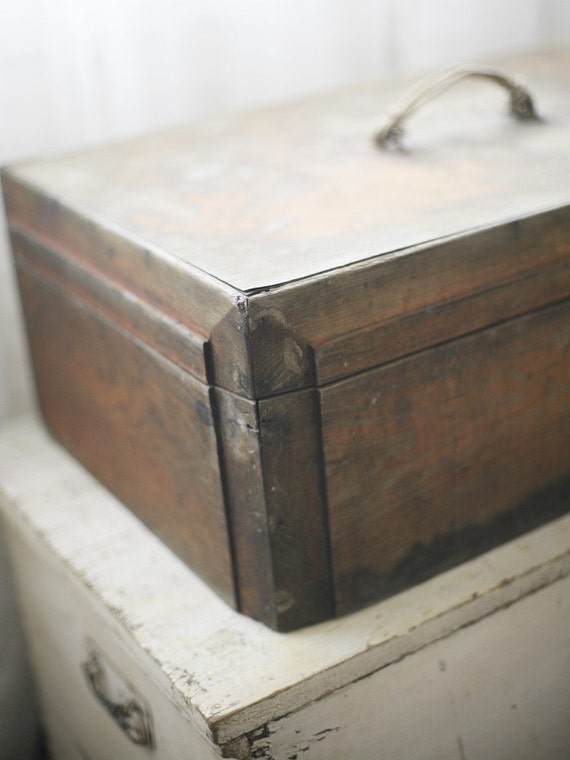 antique wooden chest (reserved)