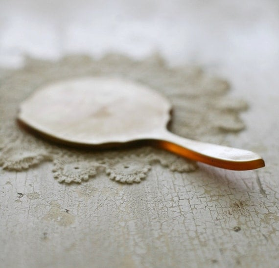 vintage hand mirror (reserved)