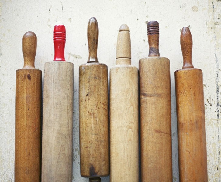 Vintage rolling pins for Kitchen pin