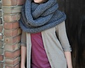 The Alaskan - In Brown - Gift, Holiday, Infinity Scarf -WINTER SALE, Clearance, Holiday Specials