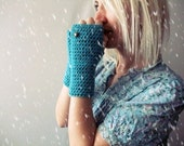 Fingerless gloves crochet hand warmers tight knit gloves for women fingerless gloves womens knit hand warmers crochet mittens serenity gift