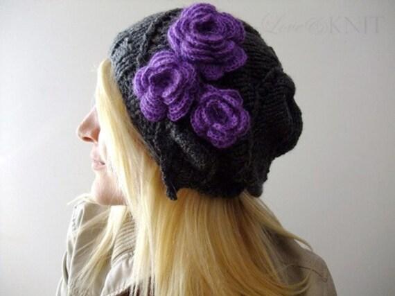 My Purple Roses Beanie