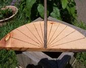 Sundial  Custom made for your latitude.  Sun yard art.