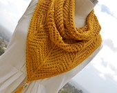 Cowgirl Cowl PDF Knitting Pattern Instant Download