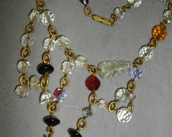 Val Harel Glass Necklace