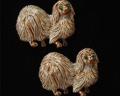 Gerry's Shih Tzu Matching Scatter Pins in Enamel