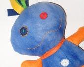 Skeeter - Blue & Orange