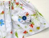 Meadowsweet Eco Toddler Skirt 2T by Big Sister Designs