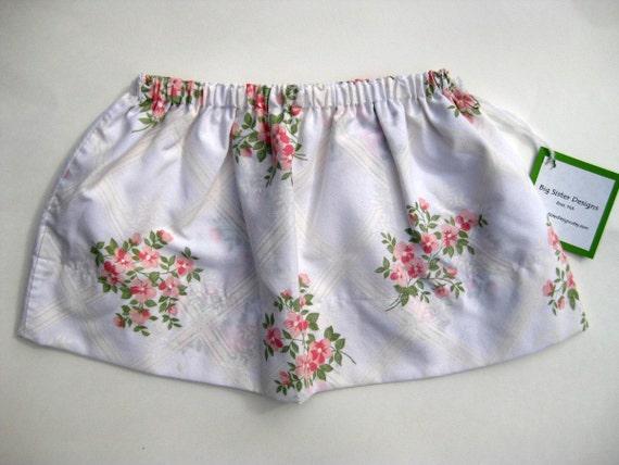 Summer Sale  Super Sweet Eco Toddler Skirt Custom Size by Big Sister Designs