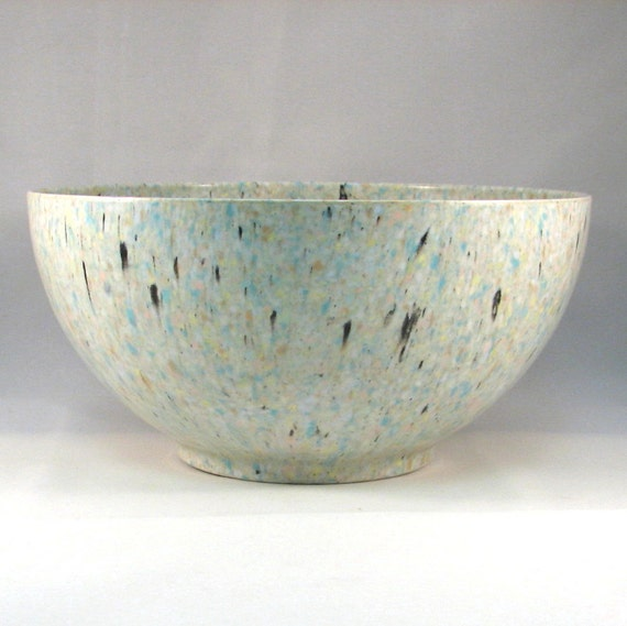 Vintage Apollo Ware Confetti Splatter Mixing Bowl by Alexander Barna