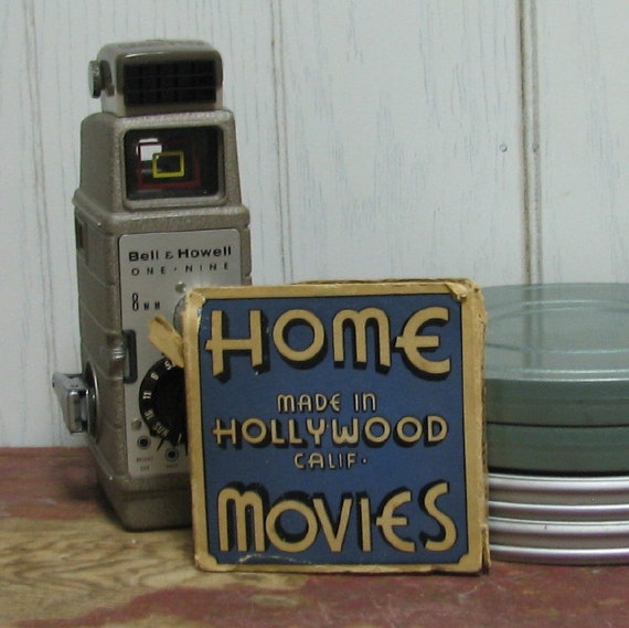 1939 Vintage 8mm Hollywood Film Home Movies - America Marches On