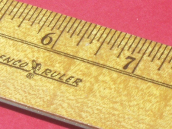 Vintage Wooden Senco Ruler