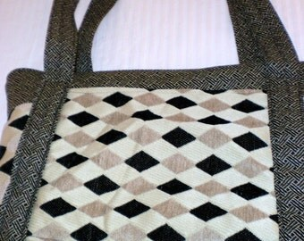 Hand Made By Maggiesbags Messenger Laptop Large Bag- Sale