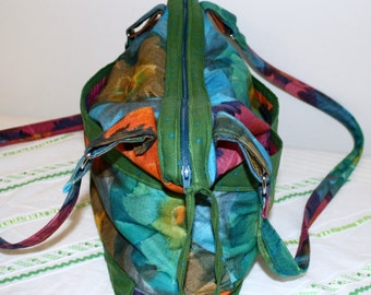 Hand Crafted By Maggie  Nice right sizeTieDye Shoulder-Crossbody Messenger Bag -Back to School Sale.
