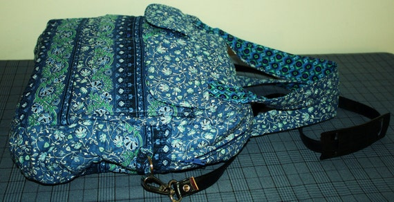 Hand Crafted by Maggie Messenger  - Crossbody- Laptop-Sports bag -Back to School Book Bag - Sale.