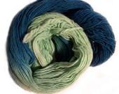Sea Foam Fingering Weight Wool Yarn - 440 yards