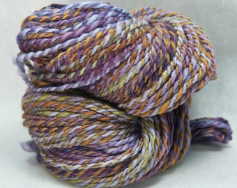 Huckleberry Train - Handspun Worsted Weight Yarn (135 yards)