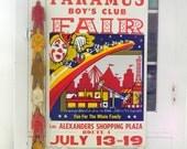 sale vintage CIRCUS poster - noodleandlouvintage