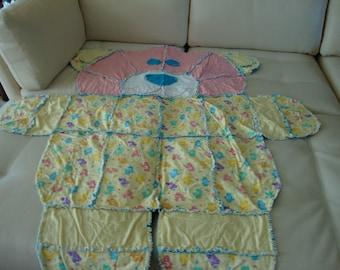 rag blanket care bears 2