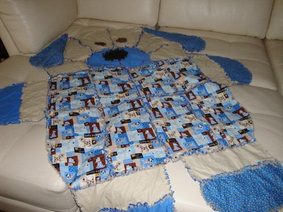 rag blanket dogs 2