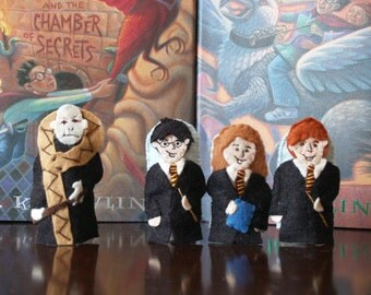 Harry Potter Finger Puppet Set