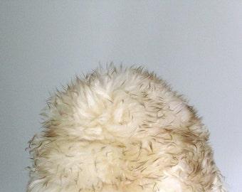 Big Wooly Lambskin Fur Hat
