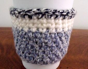 Crochet Coffee Sleeve - Wool Sock