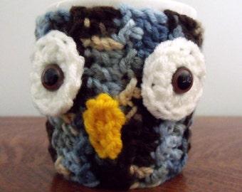 Crochet Owl Mug Cozy