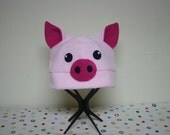 Pig Fleece Hat