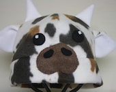 Cow Fleece Hat