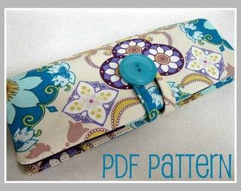 Beginner  Wallet PDF Pattern - Easy project for beginners