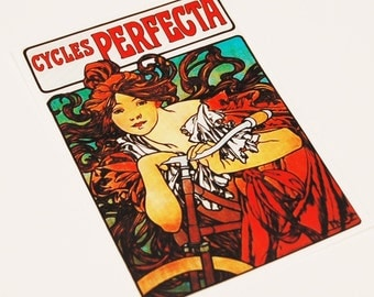 Cycles Perfecta Sticker