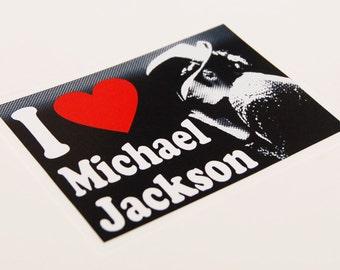 I Heart Michael Jackson Sticker