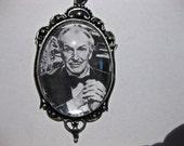 Vincent Price Necklace - Antique Silver