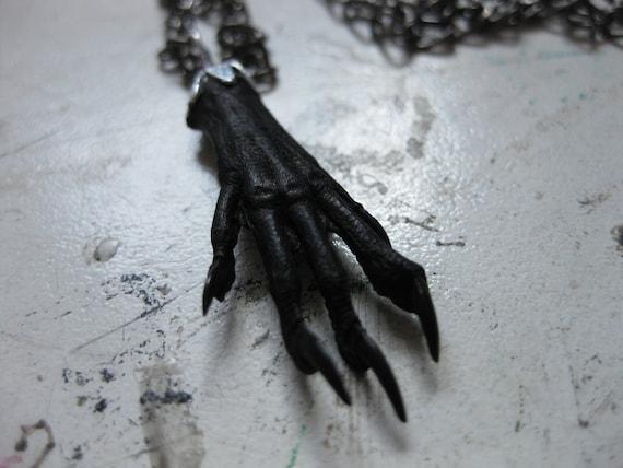 Taxidermy Feet Necklace