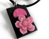 Pink Sakura Pendant