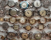 Vintage Watches Future Heirloom Wedding Day Bracelets Handmade By Recycloanalyst