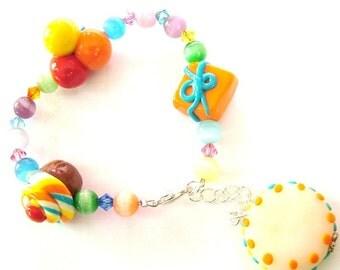 birhday personalised bracelet