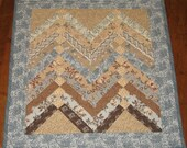 Braided Mini Wall Quilt or Table Topper