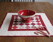 Red Table Topper
